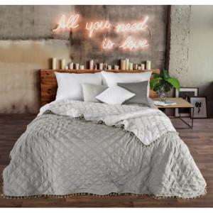 Luxusní oboustranný přehoz na postel s jemným prošíváním