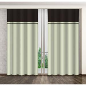 Moderní dekorační závěsy s řasící páskou