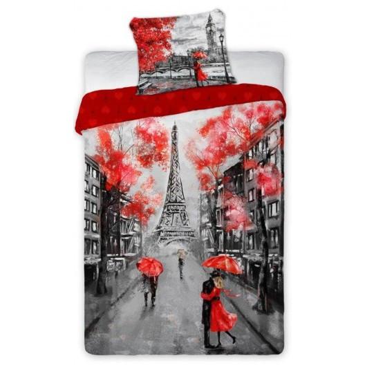 Povlečení romantický Paříž