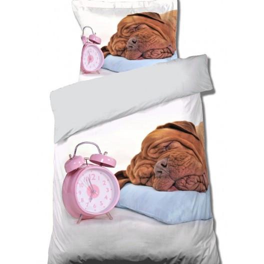 Povlečení se spícím pejskem
