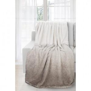 Ombré deka hnědé barvy