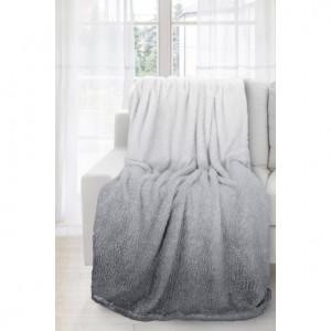 Ombré deka šedé grafitové barvy