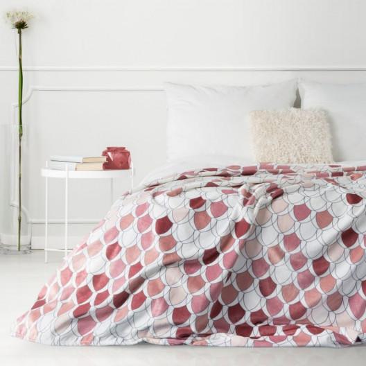 Moderní deka v krásných podzimních barvách