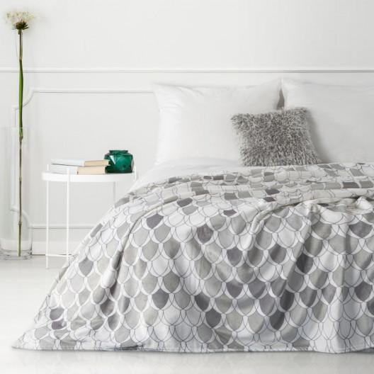 Moderní deka v krásných jšedých barvách