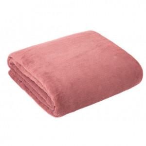 Univerzální deka růžové barvy