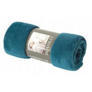 Univerzální deka petrolejově modré barvy