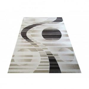 Moderní koberec v béžové barvě