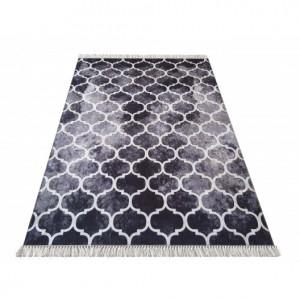Protiskluzový koberec se stylovým vzorem