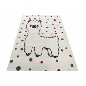 Dětský koberec s lamou