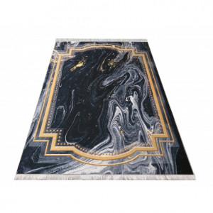 Moderní koberec s abstraktním vzorem