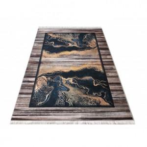 Protiskluzový koberec s abstraktním vzorem