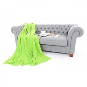 Zelené deky na postele 150 x 200 cm