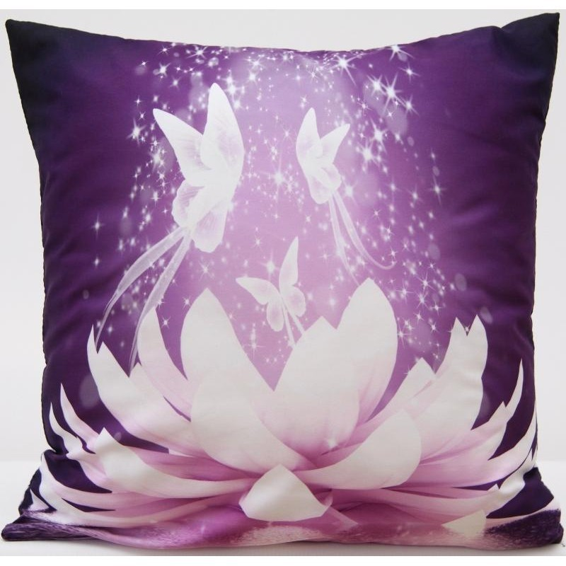 Povlak na polštář s motivem orchidej