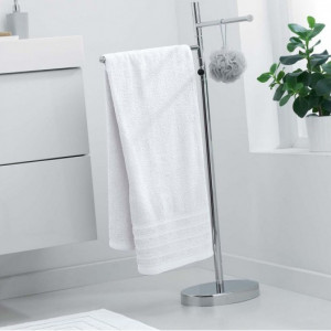 Bílá osuška ze 100% bavlny 70 x 130 cm