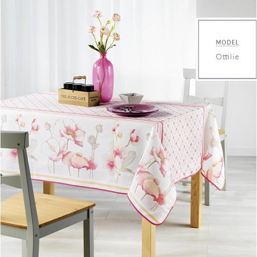 Ubrusy na stůl s motivem květů 150 x 240 cm
