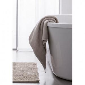 Osušky do koupelny v béžové barvě 50 x 90 cm