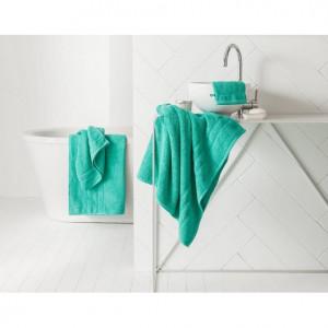 Osušky do koupelny v tyrkysovém provedení 50 x 90 cm