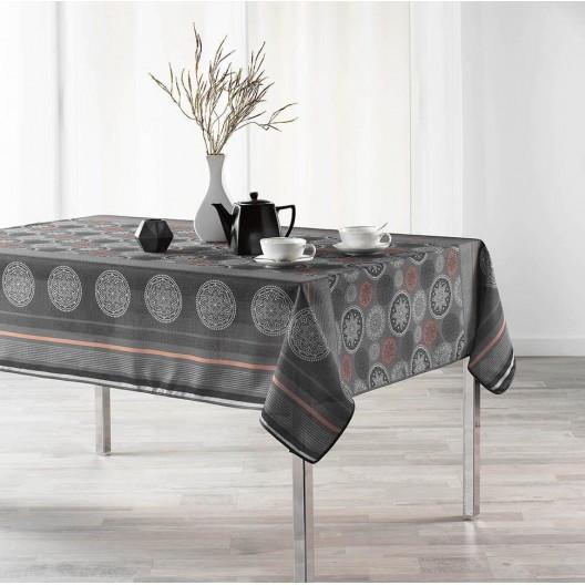 Kvalitní ubrus na stůl v světlo černém provedení 150 x 300 cm