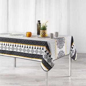 Ubrus na stůl s elegantním motivem 150 x 200 cm