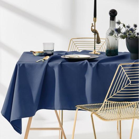Kvalitní kuchyňský ubrus tmavě modré barvy 140 x 220 cm