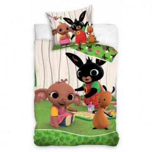 Pohádkové dětské povlečení s motivem králíka BING