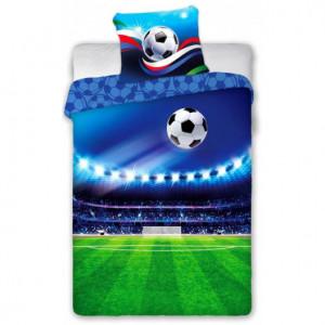 Desteké ložní povlečení s motivem fotbalu