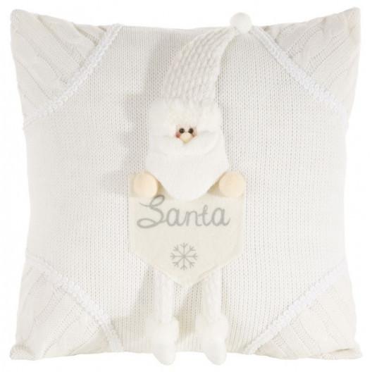 Roztomilá vánoční povlak na polštář se Santou