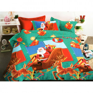 Pohádkové vánoční povlečení na postel