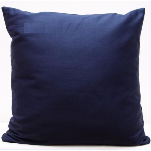 Tmavě modré dekorační povlaky na polštáře