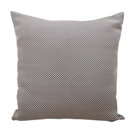 Šedě stříbrná luxusní povlak na polštář