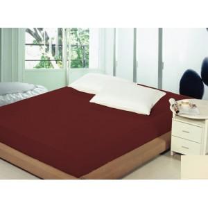 Plachta na postel 180x200cm vínové barvy