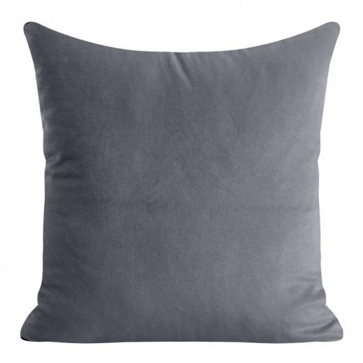 Dekoračních povlak v šedé barvě