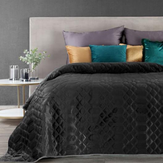 Luxusní černý přehoz na postel