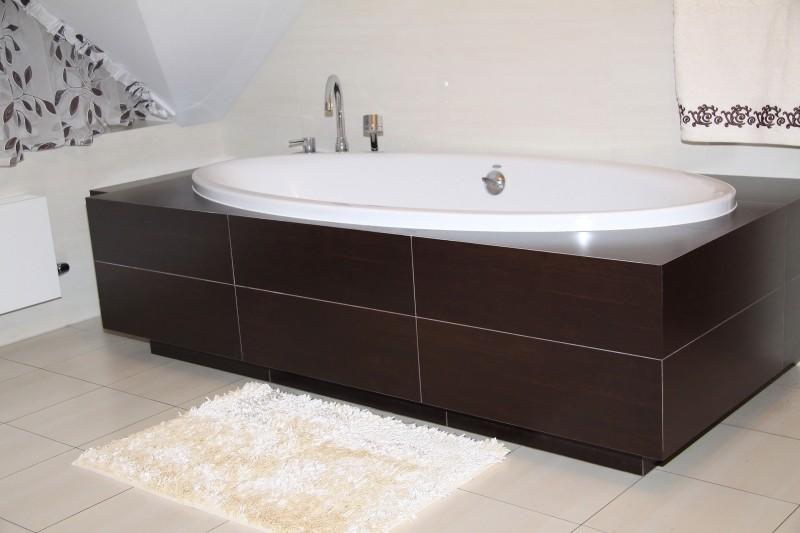 Luxusní krémové koupelnové koberečky