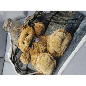 Kvalitní dětská deka s motivem medvídka 130x160