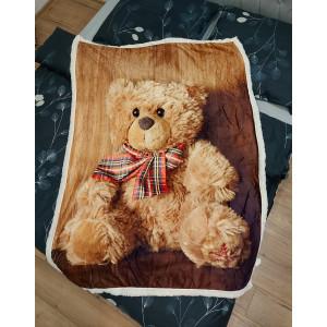 Hřejivá dětská deka zabalená v dárkové krabičce