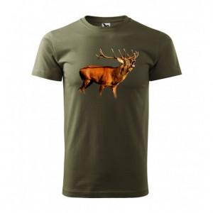 Originální pánské bavlněné tričko pro vášnivého myslivce