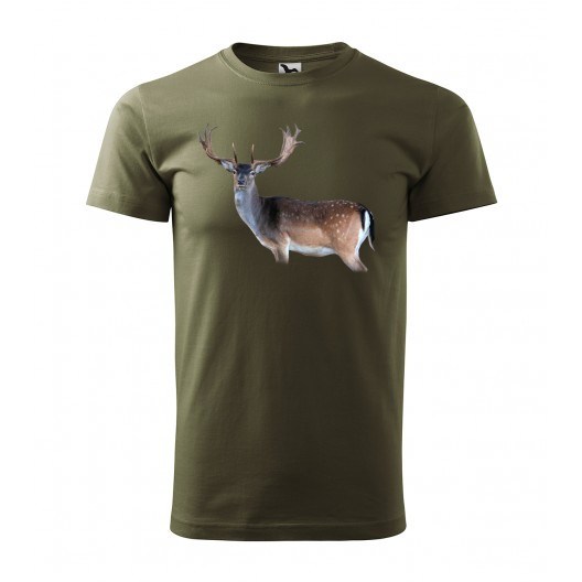 Lovecké tričko s motivem daniela