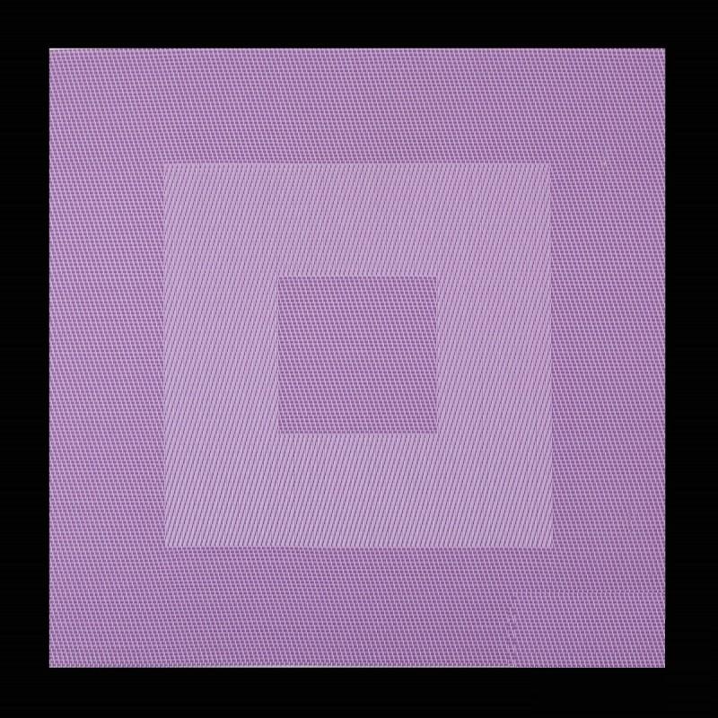 Čtvercové prostírání do kuchyně fialové barvy