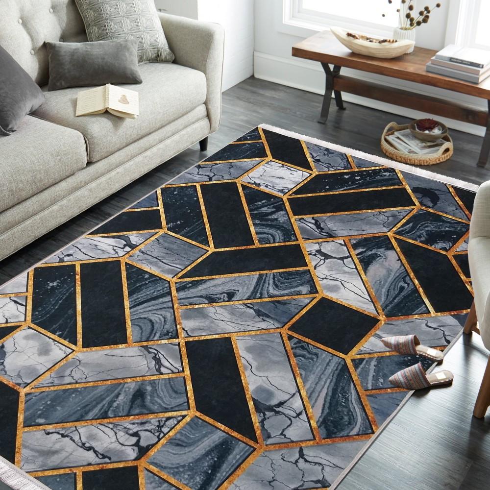 Exkluzivní koberec se stylovým vzorem