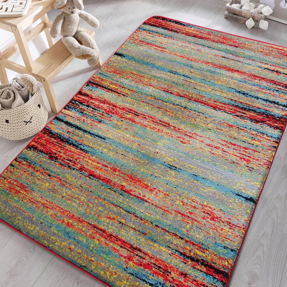 Barevný koberec do dětského pokoje
