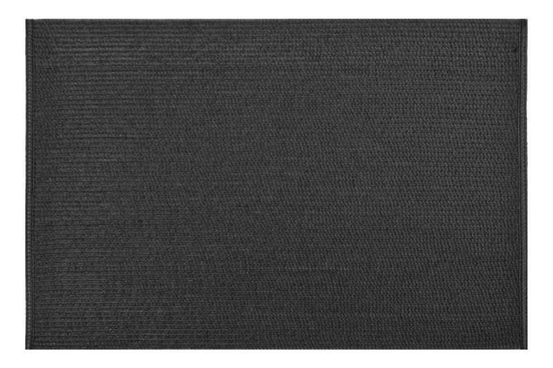 Moderní prostírání v černé barvě na stůl obdélníkového tvaru