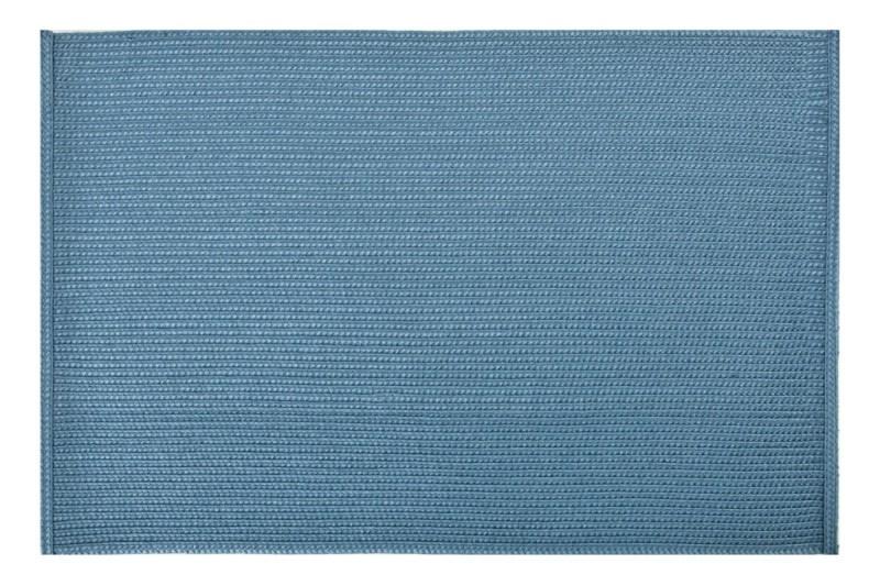 Designové prostírání tyrkysové barvy obdélníkového tvaru na jídelní stůl