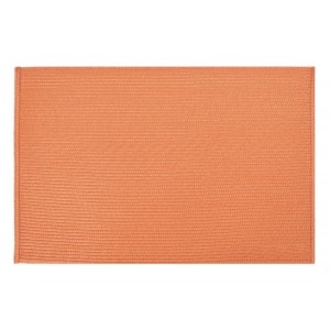 Prostírání do kuchyně oranžové barvy obdélníkového tvaru