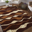 Univerzální koberec v odstínech hnědé