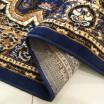 Vintage koberec v modré barvě