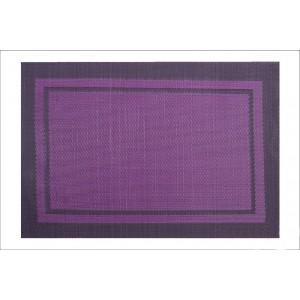 Stylové prostírání fialové barvy na stůl
