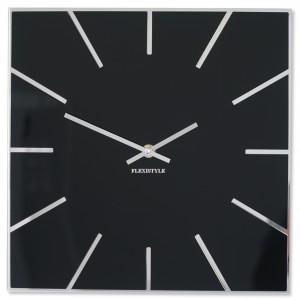 Hranaté černé hodiny