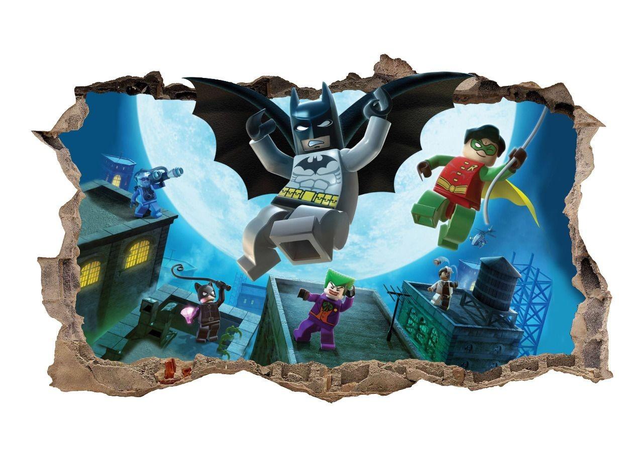 Nálepka na zeď Batman Superhero 47x77cm