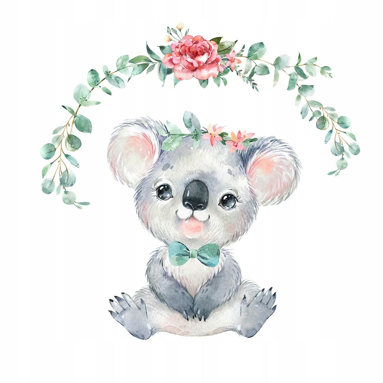 Nálepka na zeď roztomilá koala